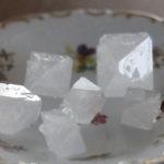 みょうばんの結晶
